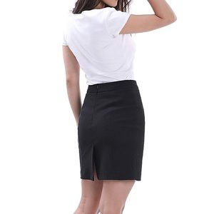 Moschino pencil skirt black mini skirt sz 4 small